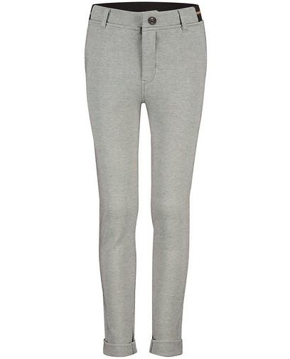 Pantalon gris brun à imprimé Communion