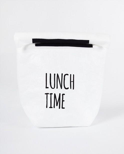 Lunchzakje MailBox - in wit - JBC