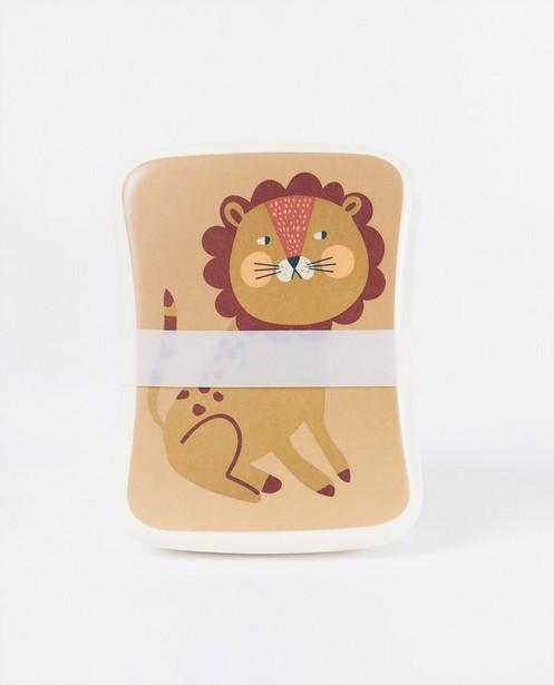 Boîte à tartines en bambou - Studio Loco - à imprimé - JBC