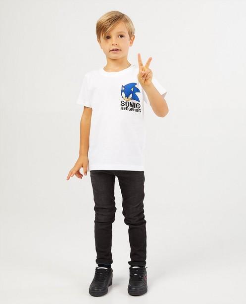 T-shirt blanc de Sonic Le Hérisson - Sonic Le Hérisson - JBC