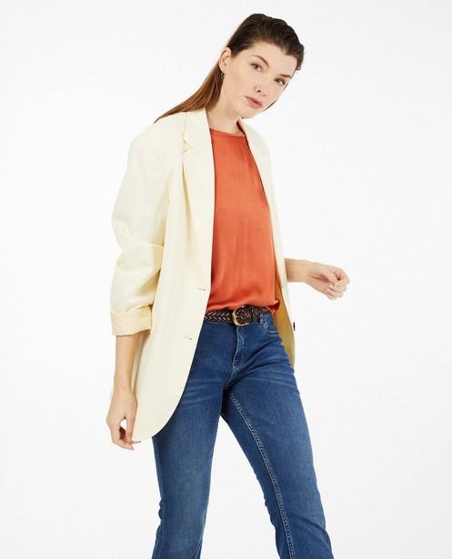 Offwhite blazer Youh! - lang model - Youh!