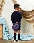 Cardigans - Gilet bleu avec pochette Communion