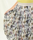 Rokken - Witte rok met safari-print Communie