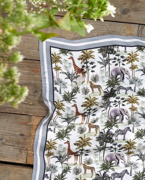 Breigoed - Sjaaltje met safari-print Communie