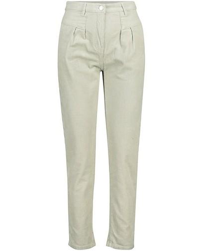 Pantalon vert pâle, coupe mom