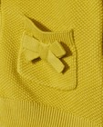 Cardigans - Gele cardigan van biokatoen