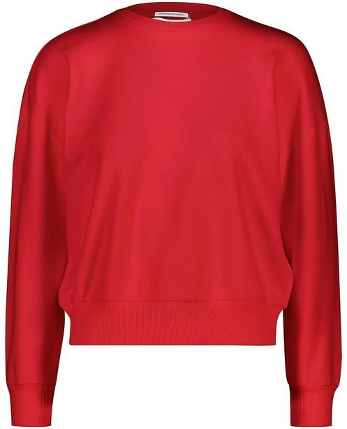 Rode unisex sweater kids - kampsweater - JBC