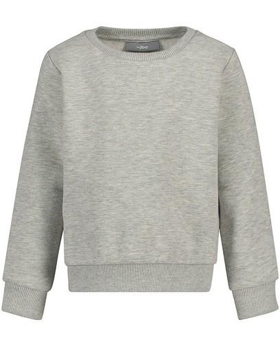 Lichtgrijze sweater dames