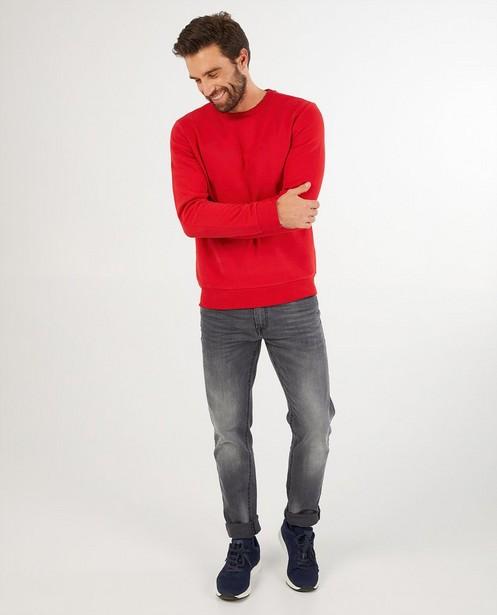 Rode sweater heren - kampsweater - JBC