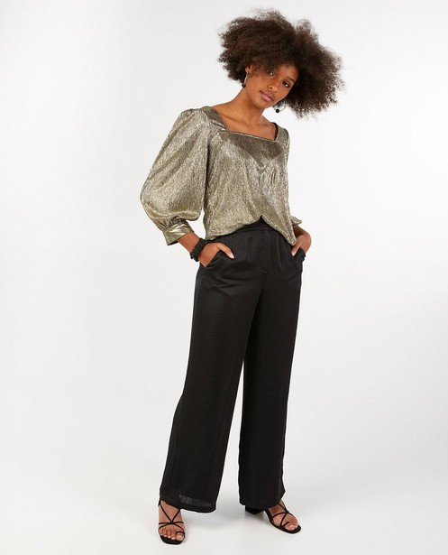 Pantalon noir Youh! - à jambes larges - YOUH!