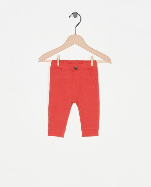 Pantalon rouge - stretch - Newborn