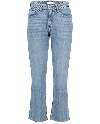Jeans bleu avec des effilochures Claire Sora