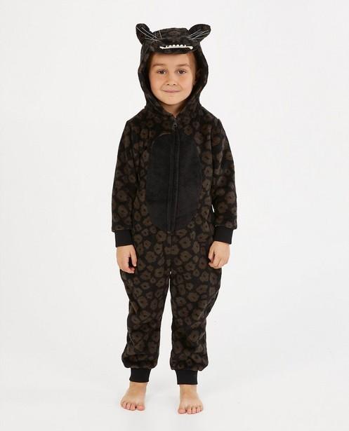 Jaguar onesie, 2-7 jaar - fleece - Kidz Nation