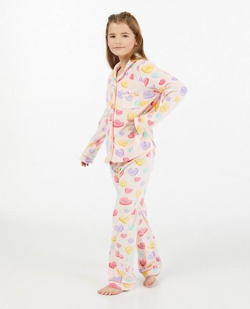 Pyjama 2 pièces en fleece à imprimé - imprimé intégral - Fish & Chips