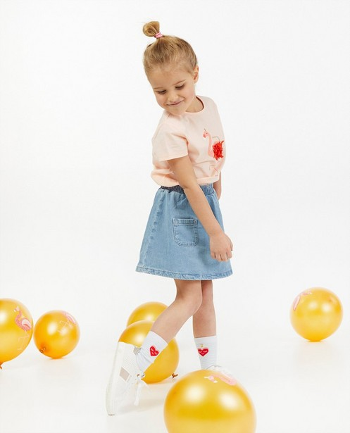 Roze verjaardagsshirt AVA x JBC - JBC x AVA - Milla Star