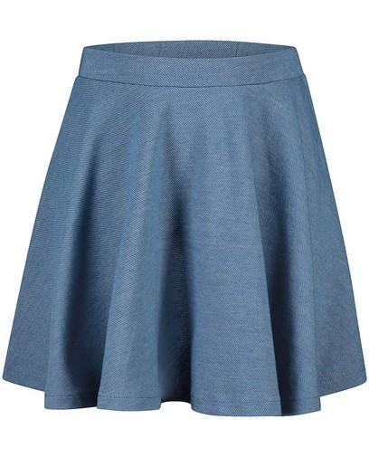 Blauwe rok Elisa Bruart