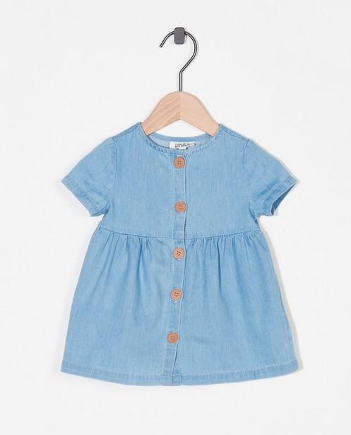 Robe bleue - boutonnée - Newborn