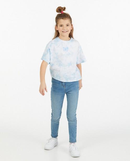 T-shirt tie dye bleu Elisa Bruart - coupe ample - Elisa Bruart