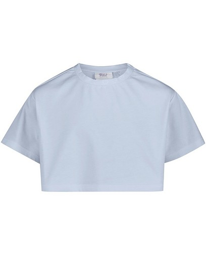 T-shirt bleu court Nour & Fatma