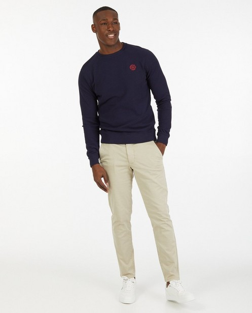 Blauwe sweater Lerros - met fijne structuur - Lerros
