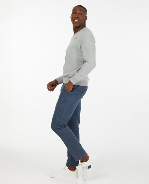 Pull gris Lerros - fin tricot - Lerros