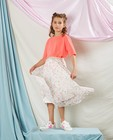 Top rose tricoté Communion - en fin tricot - Milla Star