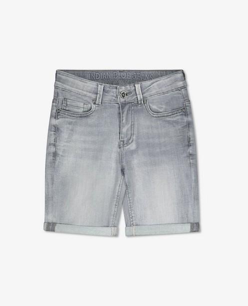 Bermuda gris Indian Blue Jeans - avec du powerstretch - Indian Blue