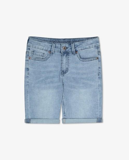 Lichtblauwe bermuda Indian Blue Jeans - stretch - Indian Blue