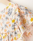 Kleedjes - Witte jurk met bloemenprint Feest