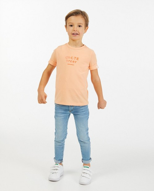 Skinny Joey bleu clair, 2-7 ans - taille ajustable - Kidz Nation