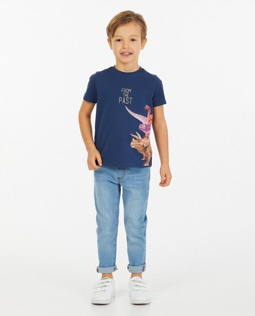 Jeans slim bleu clair Simon, 2-7 ans - taille ajustable - Kidz Nation