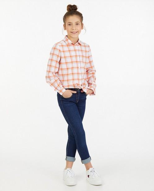 Donkerblauwe skinny Marie, 7-14 jaar - stretch - JBC