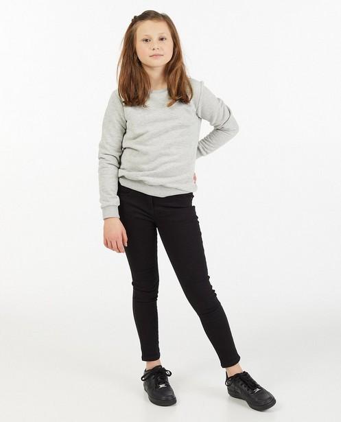 Zwarte skinny Marie, 7-14 jaar - stretch - JBC