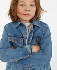 Cardigans - Veste en jeans bleue