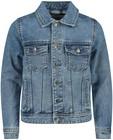 Cardigans - Blauwe jeansjas