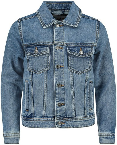 Veste en jeans bleue