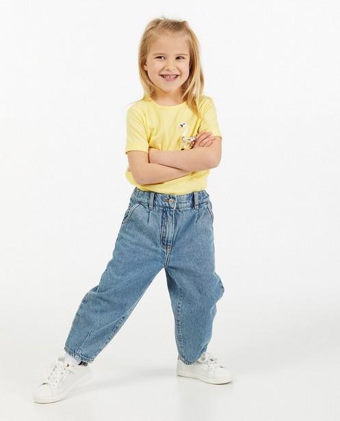 Jeans bleu coupe slouchy - effet délavé - Milla Star
