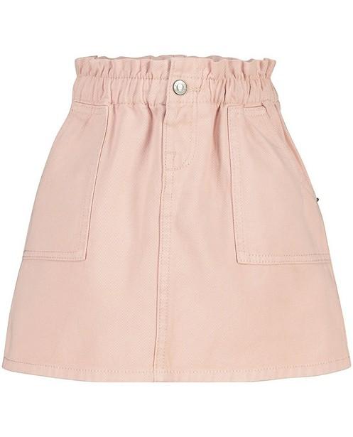 Roze jeansrokje - met paperbag waist - Milla Star