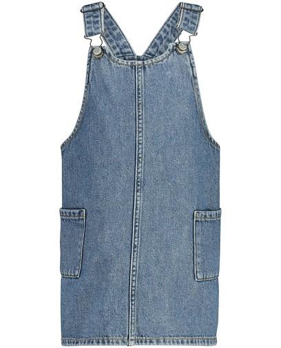 Salopette bleue en jeans