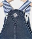 Jeans - Salopette bleue en sweat denim