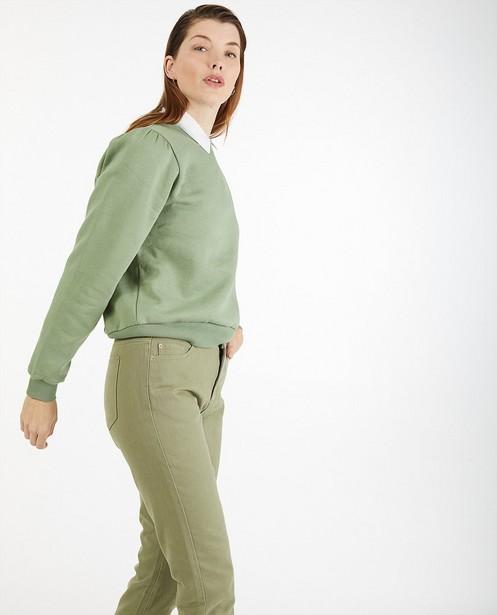 Pantalon vert foncé Sora - uni - Sora
