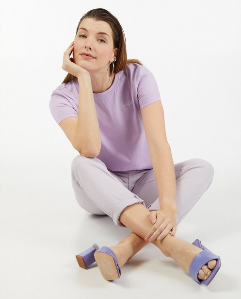 Pantalon lilas Sora - uni - Sora