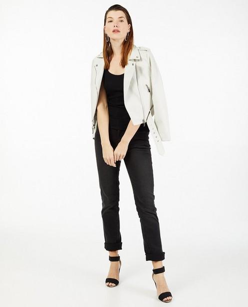 Witte faux leather jas Sora - communie - Sora
