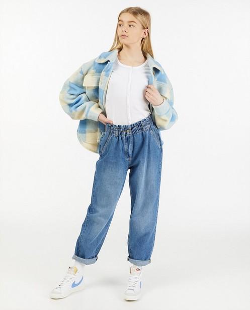 Blauw geruite shacket - allover - Groggy