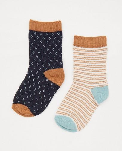 Ensemble de 2 paires de chaussettes pour bébés