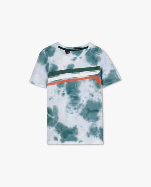 T-shirt avec tie dye Common Heroes - à rayures - Common Heroes