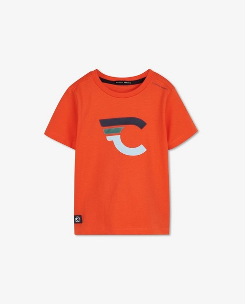 T-shirt orange avec logo Common Heroes - imprimé - Common Heroes