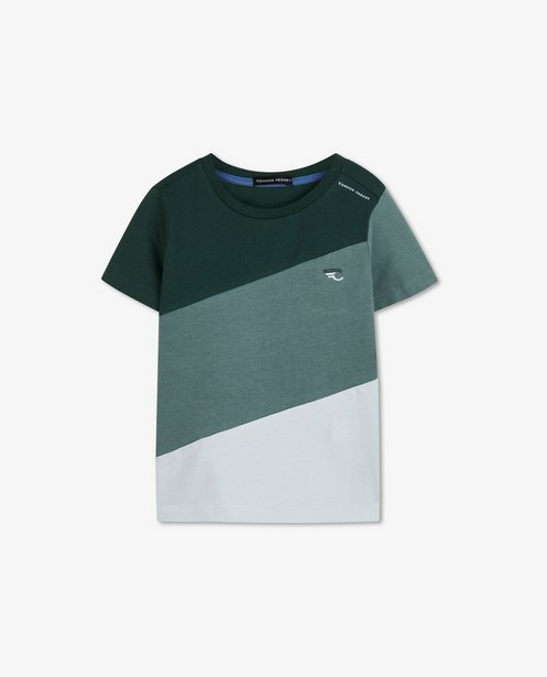 T-shirt color block Common Heroes - surfaces diagonales - Common Heroes