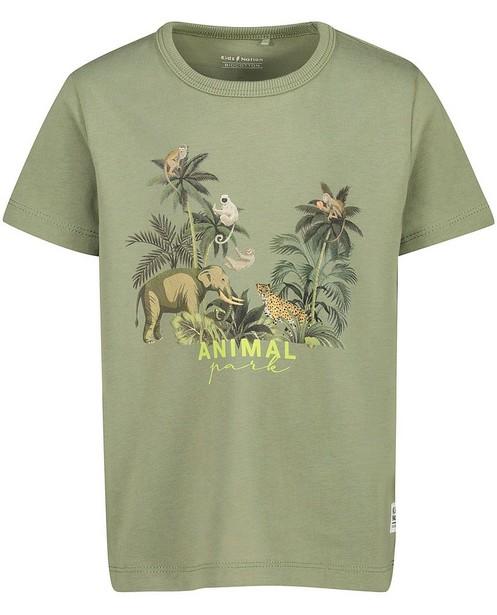 T-shirt en coton bio à imprimé - stretch - Kidz Nation