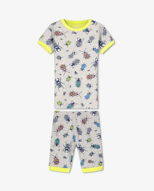 Pyjama à imprimé à insectes Hatley - gris - Hatley